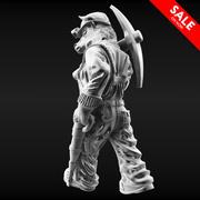 Bull Miner 3d model