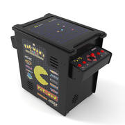Pac Man Arcade Part CasinoBandai Namco Cabinet game Machine 3d model