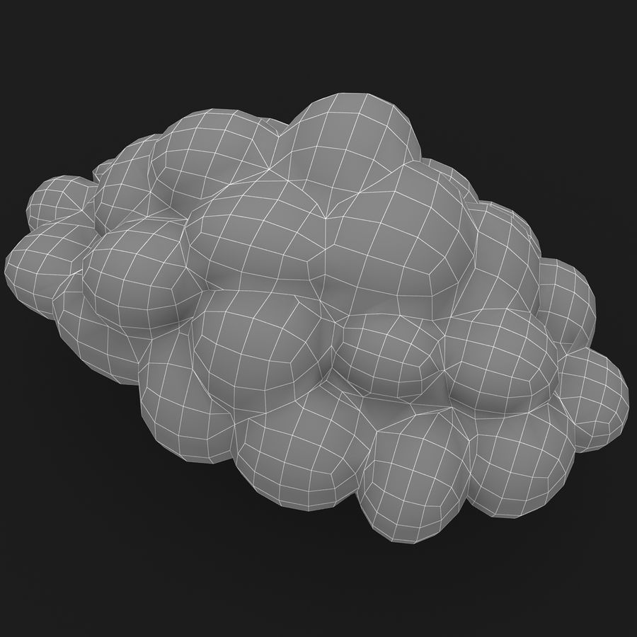 Nuage royalty-free 3d model - Preview no. 15