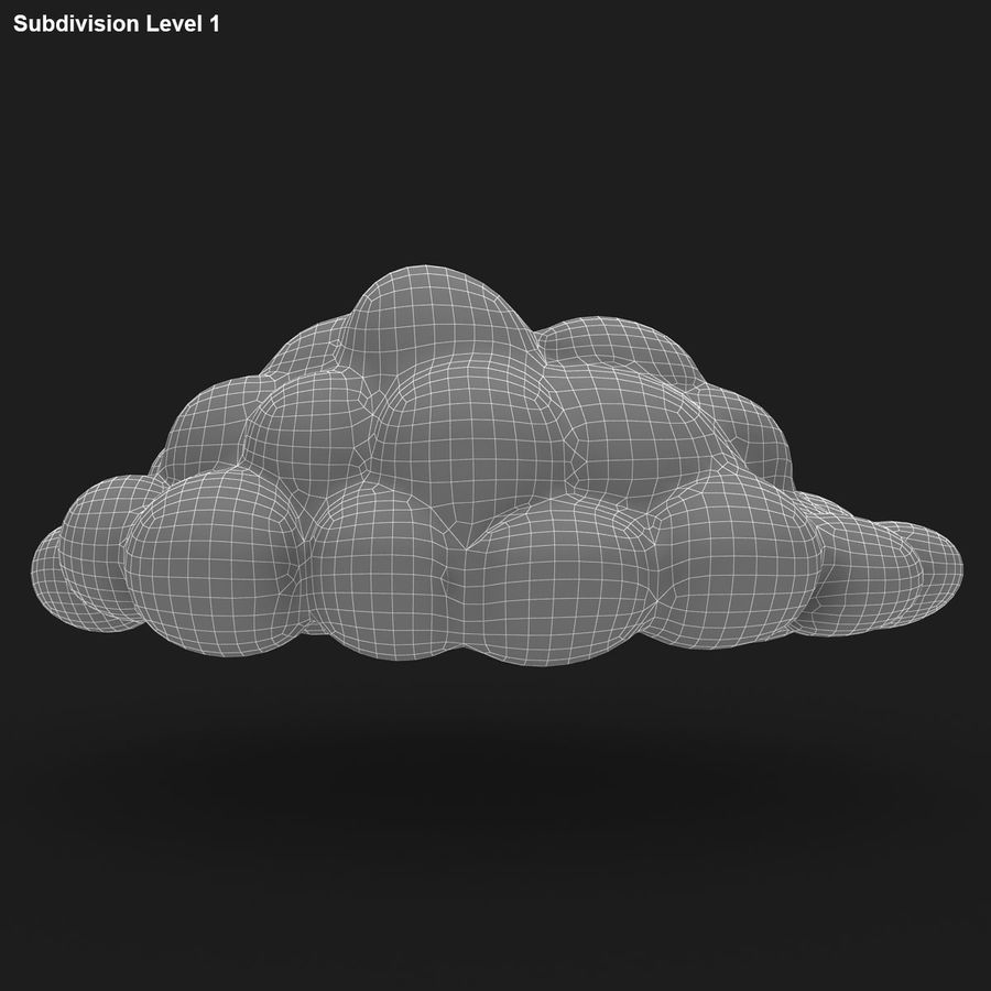 Nuage royalty-free 3d model - Preview no. 19