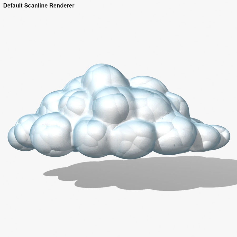 Nuage royalty-free 3d model - Preview no. 20