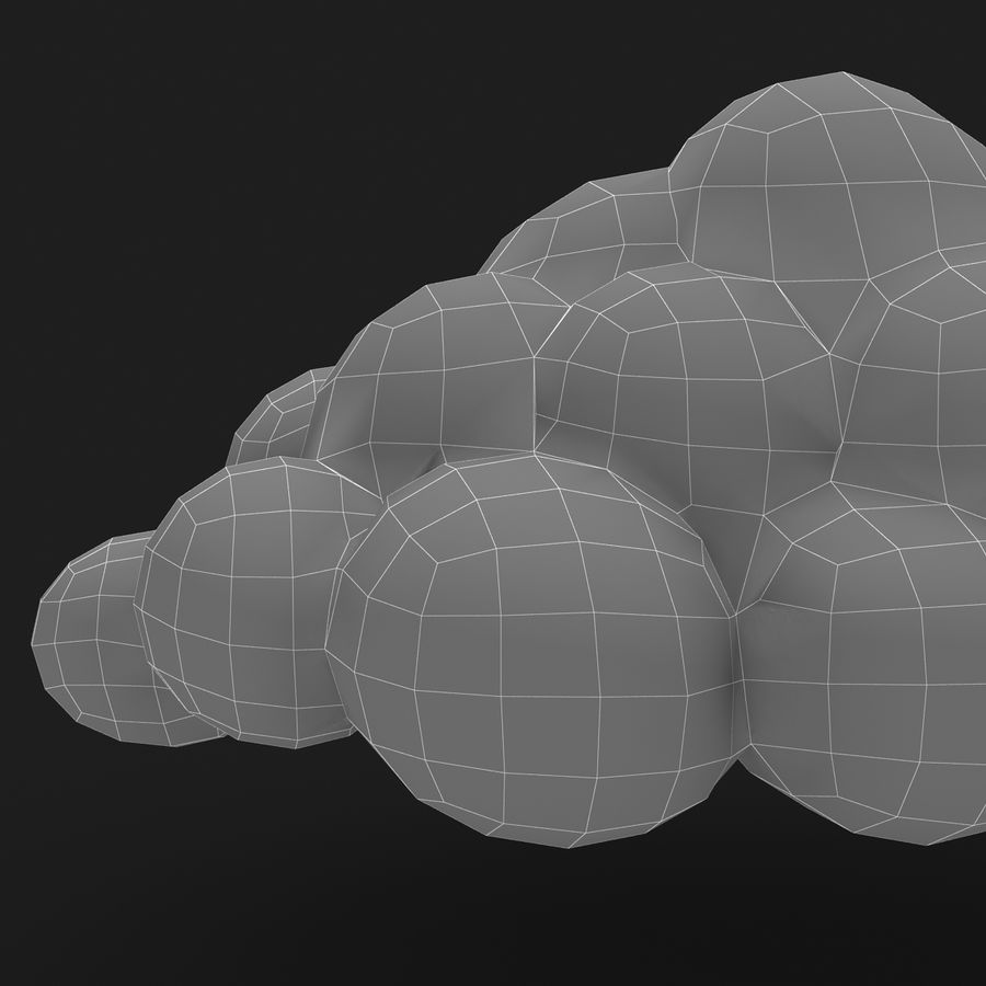 Nuage royalty-free 3d model - Preview no. 16