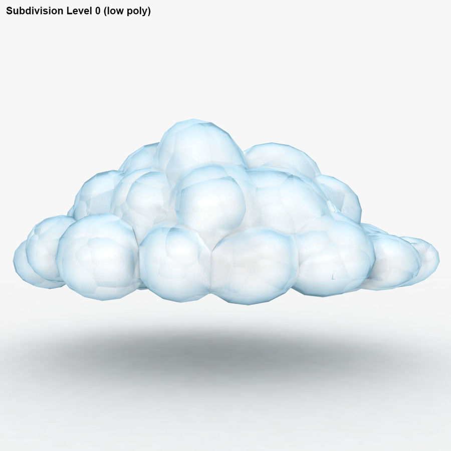 Nuage royalty-free 3d model - Preview no. 17
