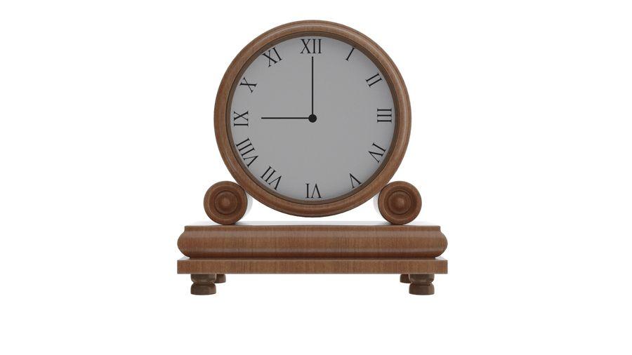 Mantel Clock royalty-free 3d model - Preview no. 6