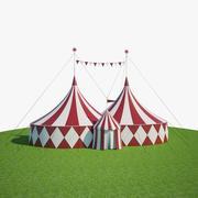 Большая цирковая палатка 3d model
