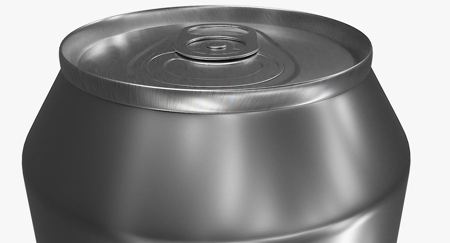 Soda Can royalty-free 3d model - Preview no. 3