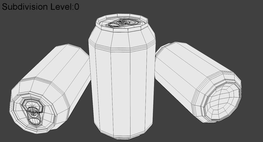 소다 캔 royalty-free 3d model - Preview no. 8