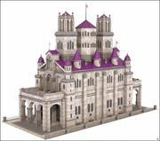 维多利亚时代的建筑 3d model