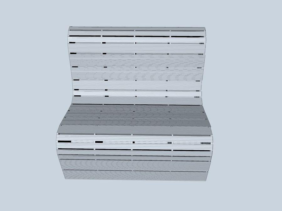 Bank Karton bank royalty-free 3d model - Preview no. 7