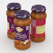 Pataks Tomato Butter Chicken Jar 350g 3d model