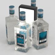Olmeca Tequila Blanco 700ml Bottle 3d model