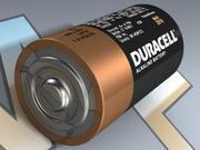 C Bateria alkaliczna LR14 3d model
