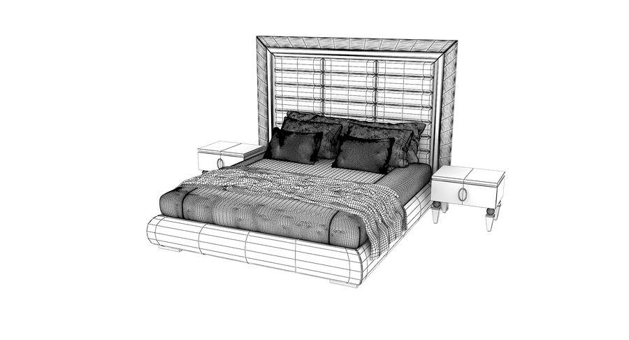 Capital Kollektion Kole Plus Bed & Korp Nachttische royalty-free 3d model - Preview no. 4