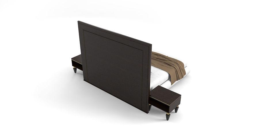 Capital Kollektion Kole Plus Bed & Korp Nachttische royalty-free 3d model - Preview no. 3