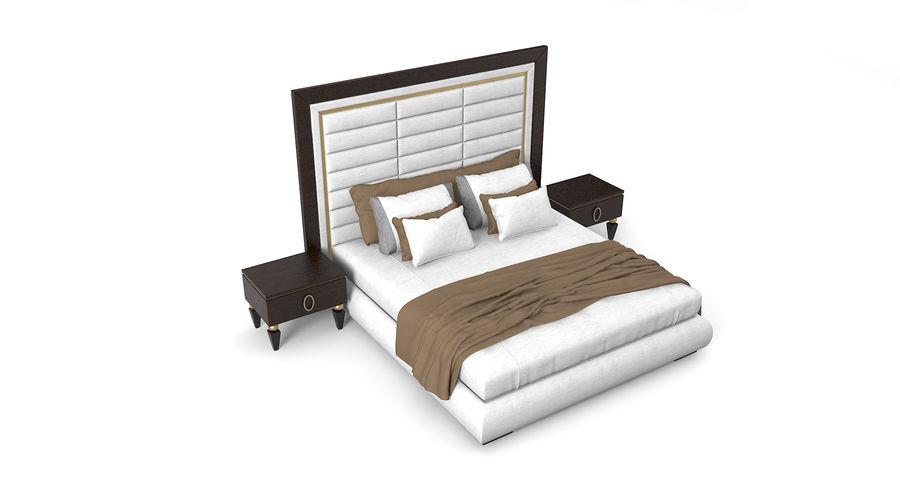 Capital Kollektion Kole Plus Bed & Korp Nachttische royalty-free 3d model - Preview no. 2