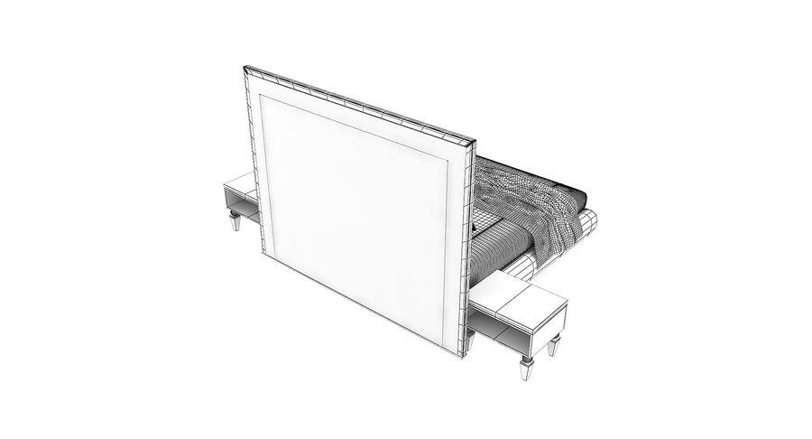 Capital Kollektion Kole Plus Bed & Korp Nachttische royalty-free 3d model - Preview no. 6