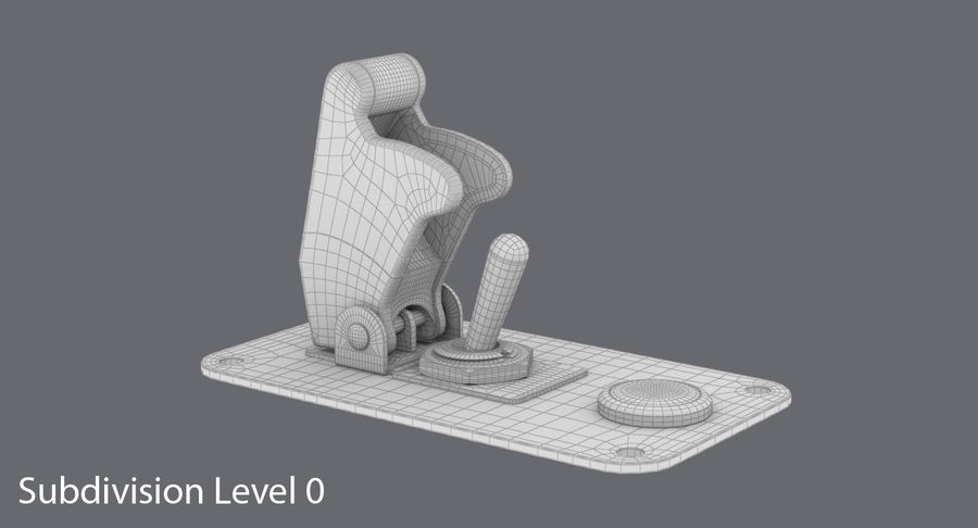Switch 10 Damaged royalty-free 3d model - Preview no. 13
