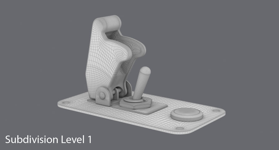 Switch 10 Damaged royalty-free 3d model - Preview no. 16