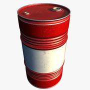Barril de petróleo modelo 3d
