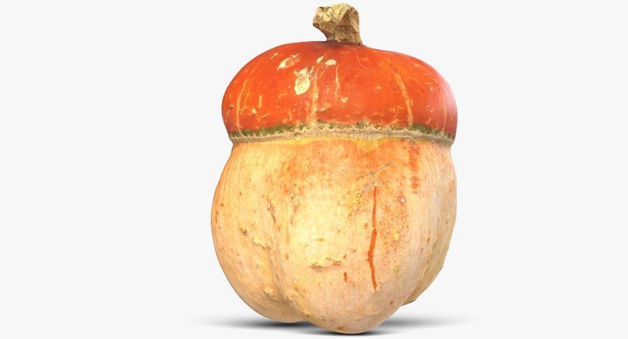Pumpkin Small royalty-free 3d model - Preview no. 7
