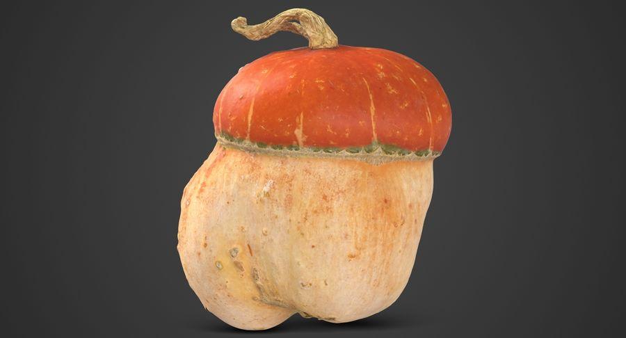 Pumpkin Small royalty-free 3d model - Preview no. 3