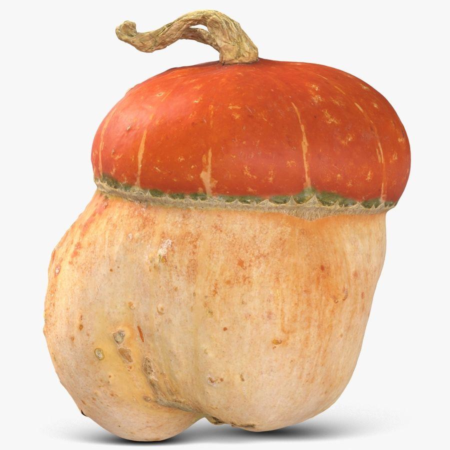 Pumpkin Small royalty-free 3d model - Preview no. 1
