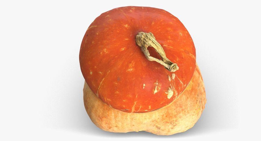 Pumpkin Small royalty-free 3d model - Preview no. 8