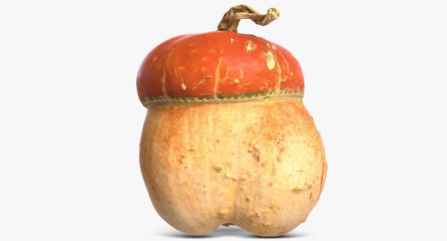 Pumpkin Small royalty-free 3d model - Preview no. 6