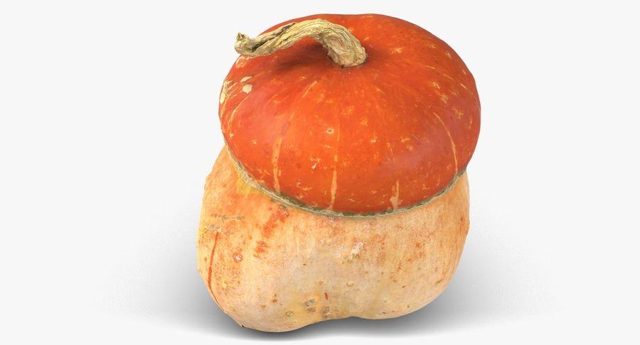 Pumpkin Small royalty-free 3d model - Preview no. 9