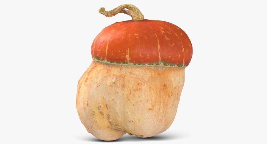 Pumpkin Small royalty-free 3d model - Preview no. 2