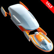 Space Hovercraft 3d model