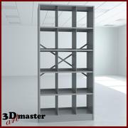 Gemonteerde Techno-Lite X-Ray archiefkast 3d model