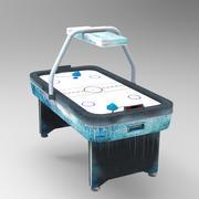 Stół do hokeja na powietrzu 3d model