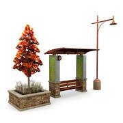 Street Elements 3 3d model