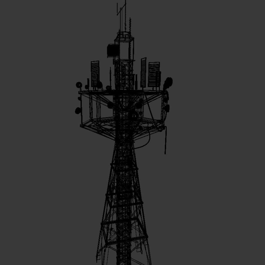 Torre de rádio royalty-free 3d model - Preview no. 12
