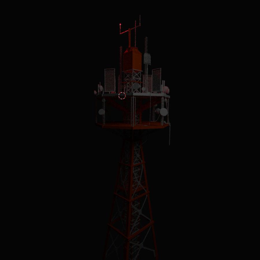 Torre de rádio royalty-free 3d model - Preview no. 9