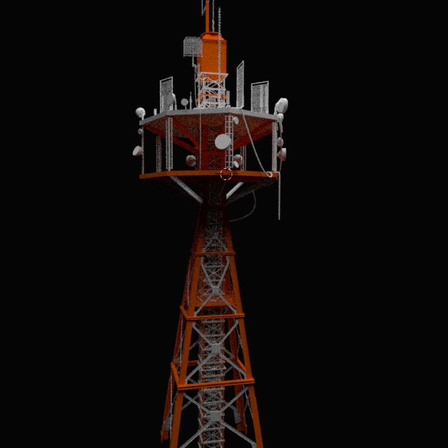 Torre de rádio royalty-free 3d model - Preview no. 11