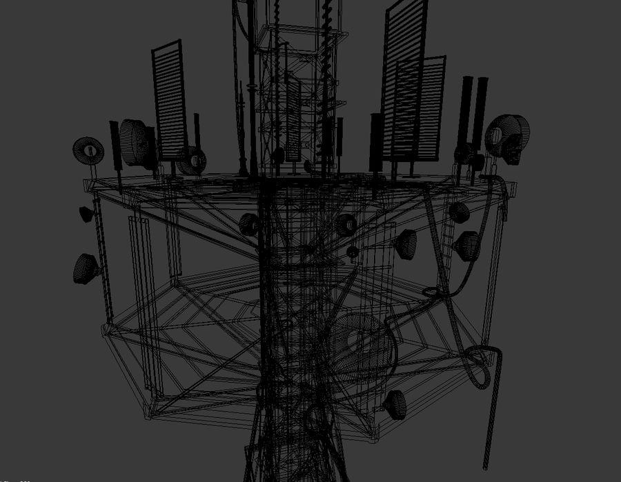 Torre de rádio royalty-free 3d model - Preview no. 13