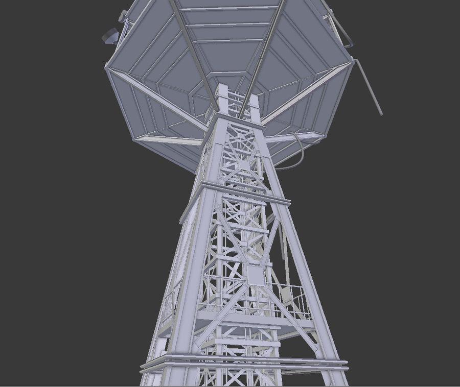Torre de rádio royalty-free 3d model - Preview no. 7