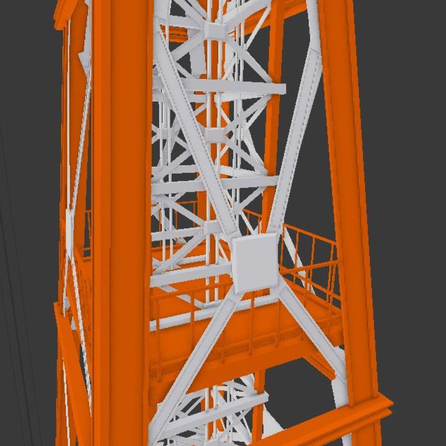 Torre de rádio royalty-free 3d model - Preview no. 16