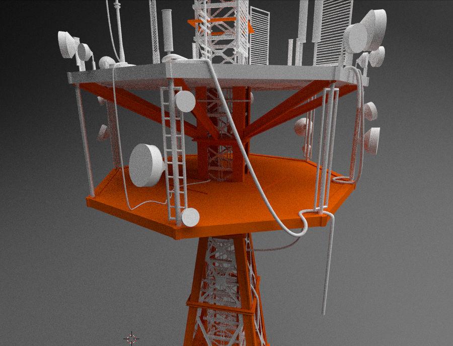Torre de rádio royalty-free 3d model - Preview no. 1