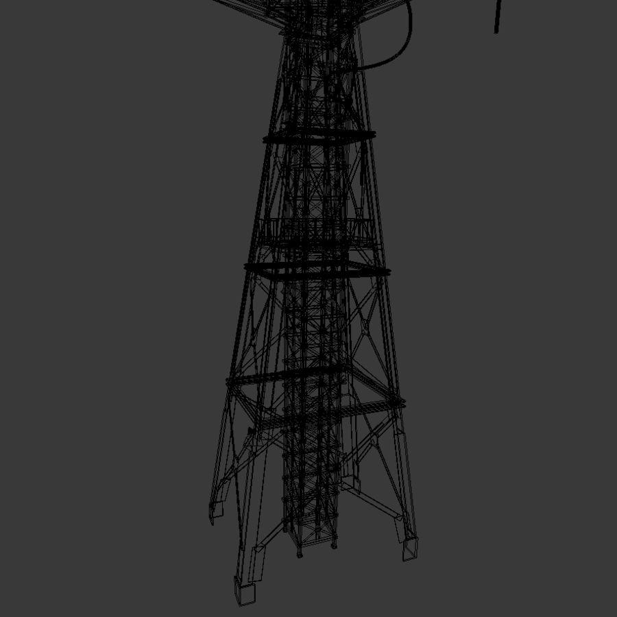 Torre de rádio royalty-free 3d model - Preview no. 14