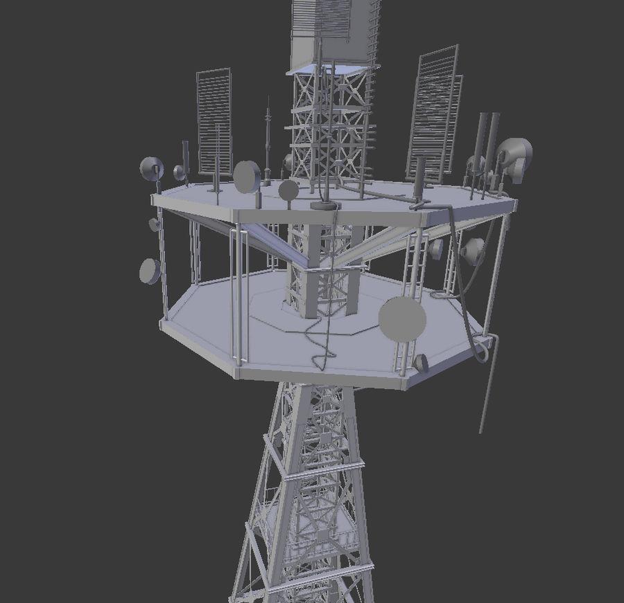 Torre de rádio royalty-free 3d model - Preview no. 5