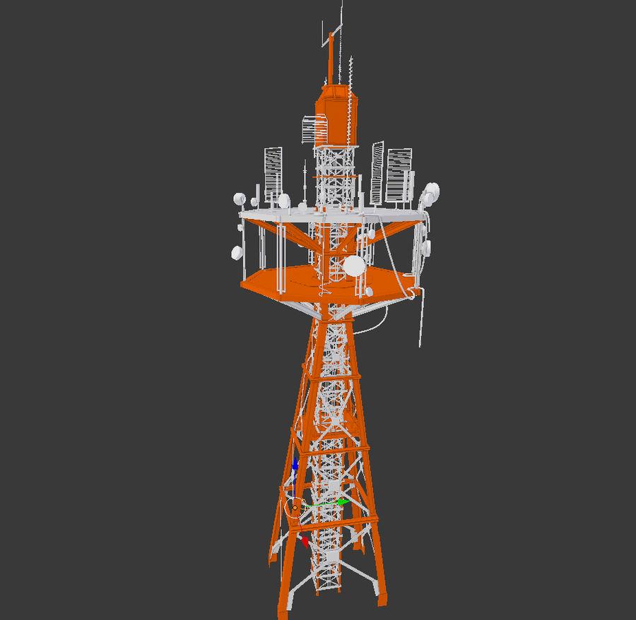 Torre de rádio royalty-free 3d model - Preview no. 15