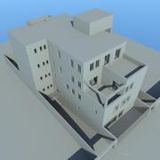 Casa en lima modelo 3d