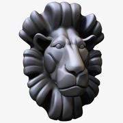 Lion Bust 3d model