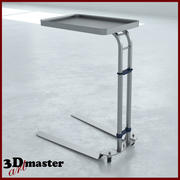Foot Operated  Mayo Stand 3d model