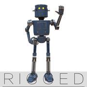 装備されたロボットV1 3d model