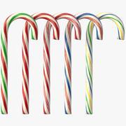 Zuckerstange (5 Farben) 3d model