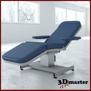Medicinsk Hi-Lo blodteckningsstol 3d model
